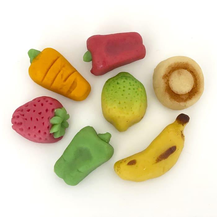 Frutas de mazapán de sant dionís mocadorà