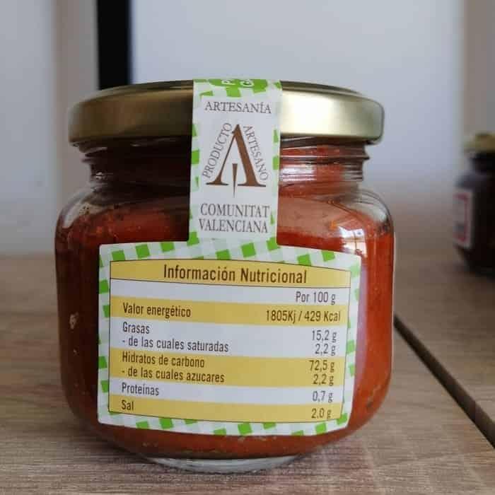 Información Nutricional Del Pate De Tomate Seco Que Puedes Comprar