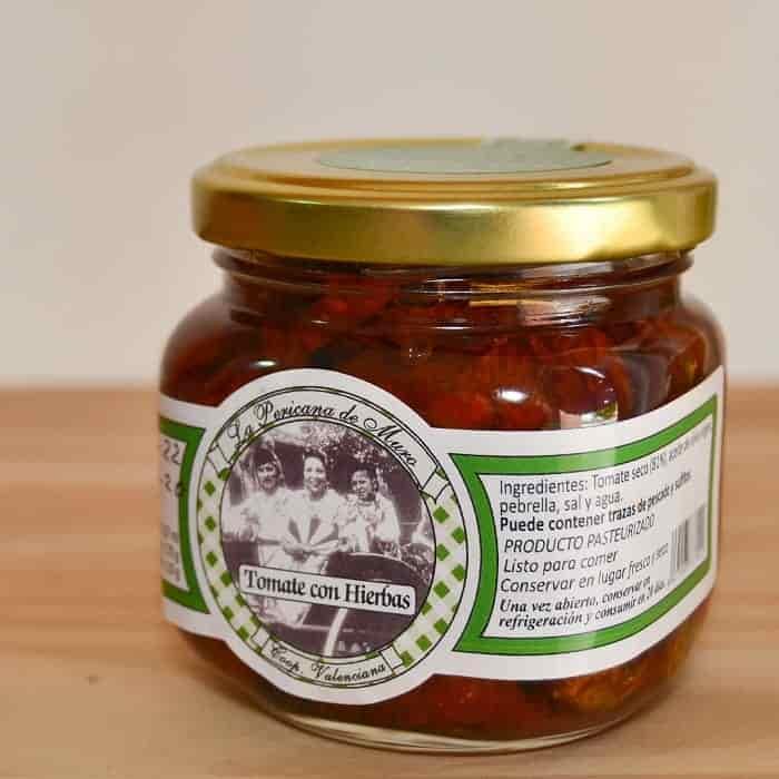 Tomate Seco Con Hierbas