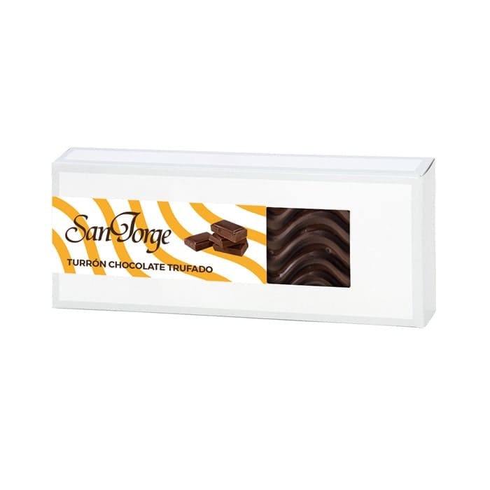 Turrón trufado chocolate