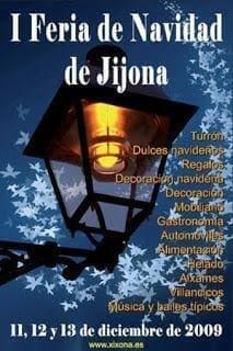 Cartel De La Primera Edición De La Feria De Navidad De Jijona