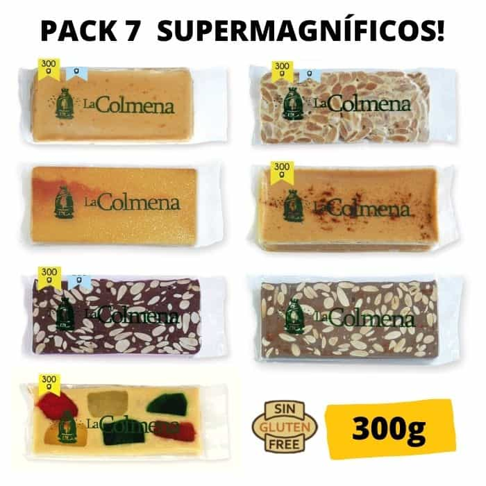 Pack 7 Supermagníficos