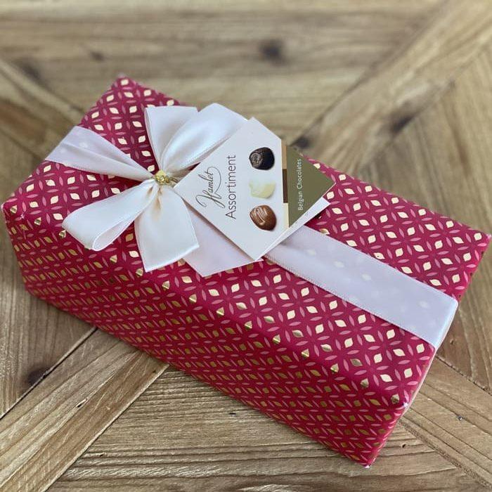 Caja de regalo de bombones