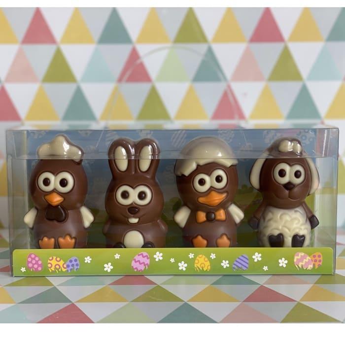 Animales De Pascua De Chocolate