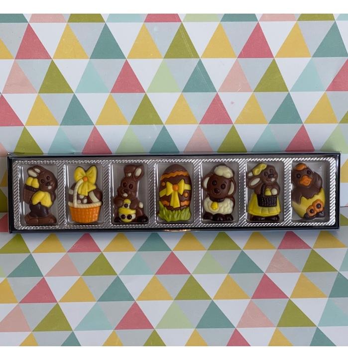 Set de chocolatinas de pascua