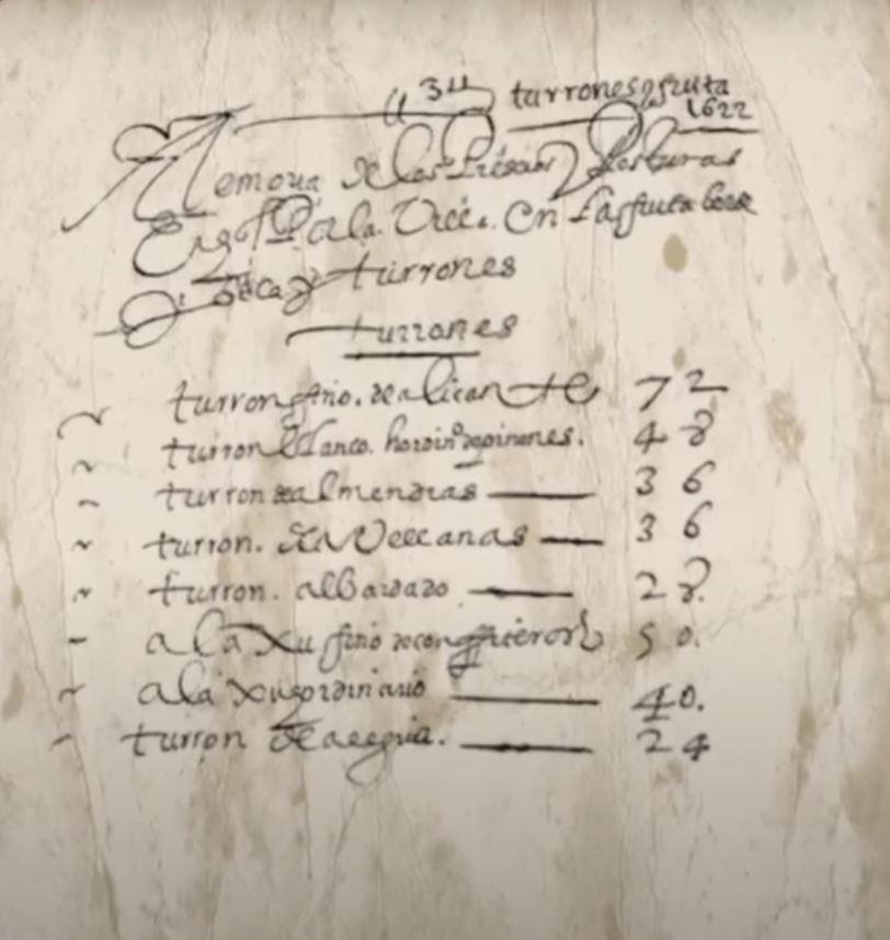 Precio De Los Turrones En El Siglo XVI